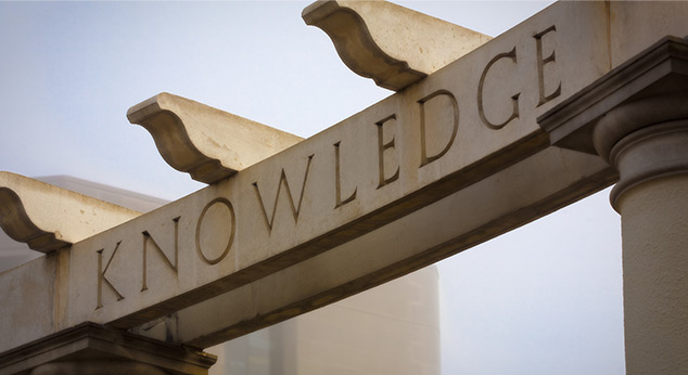 Greek theatre knowledge arch